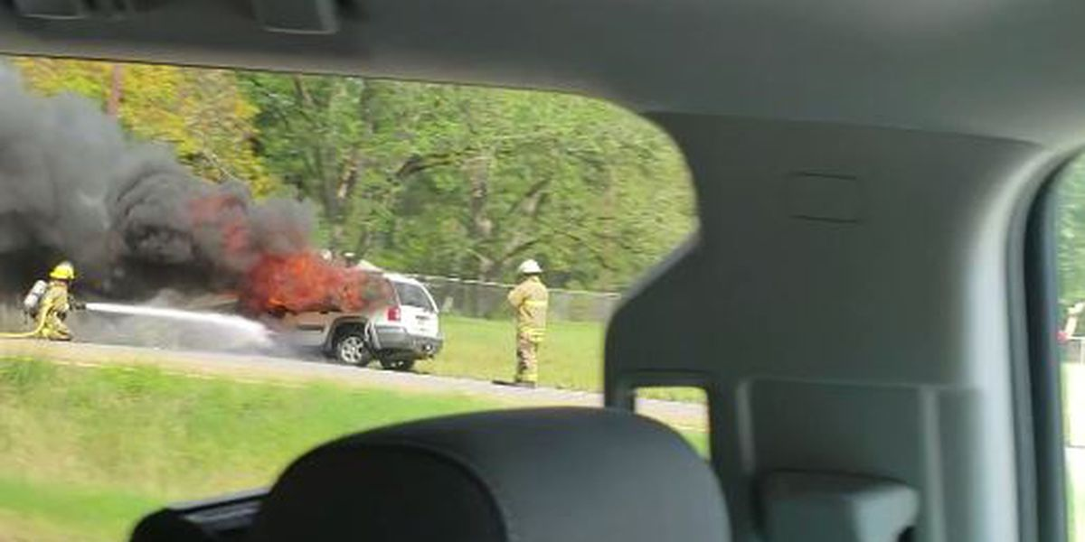 Car fire in DeRidder under investigation