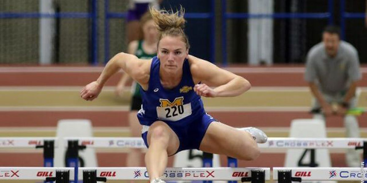 McNeese's Grace McKenzie named SLC Indoor Student-Athlete of the Year
