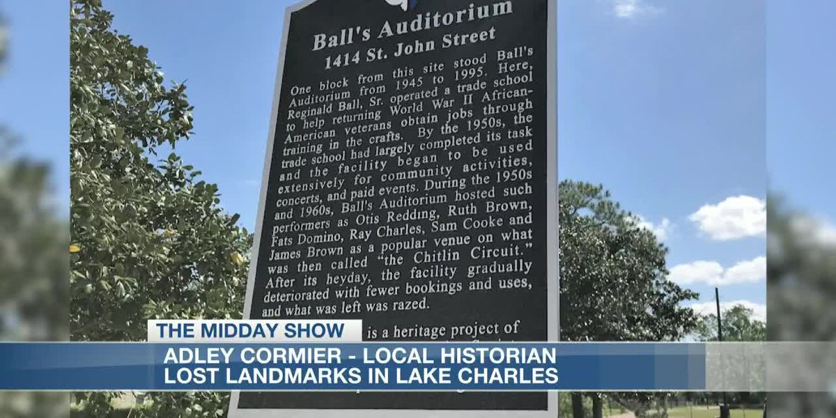 LOST LANDMARKS OF LAKE CHARLES: Ball's Auditorium, Arcade Theatre