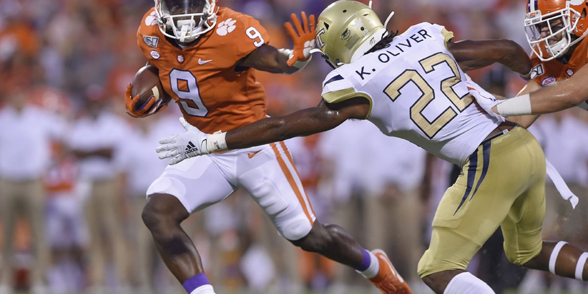 Jennings native Travis Etienne named back-to-back ACC Player of the Year