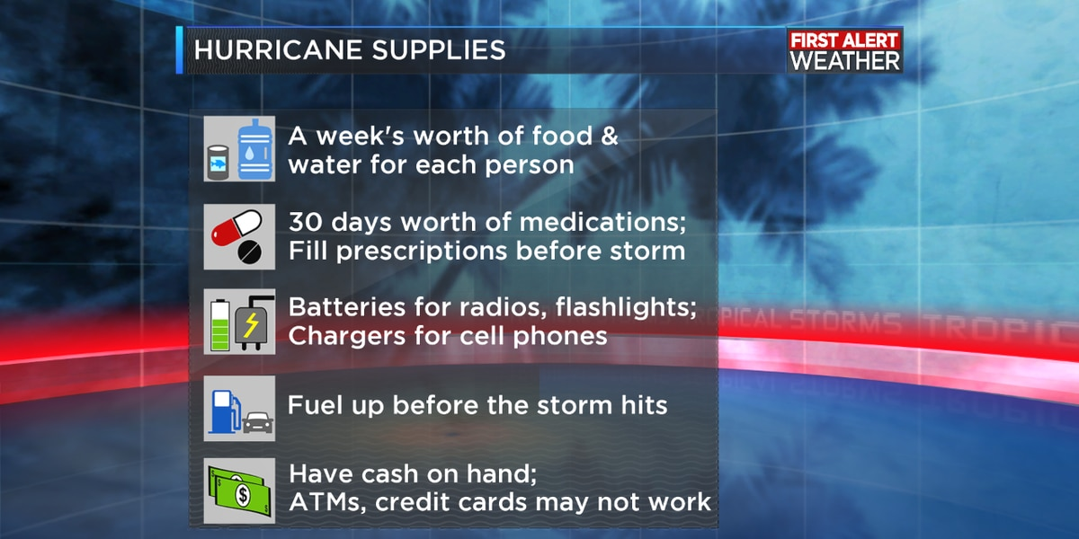 Hurricane season preparedness tips