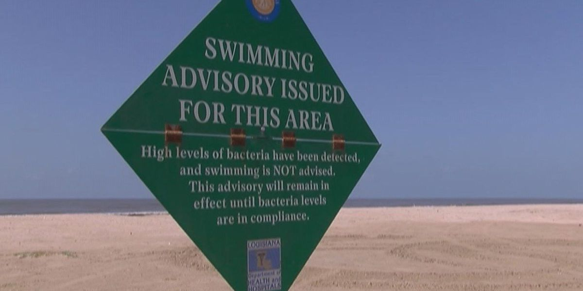 High bacteria levels at three SWLA beaches