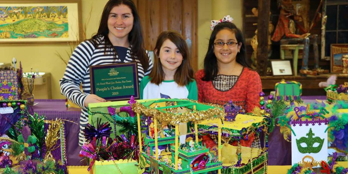 Mardi Gras Shoebox Float Contest