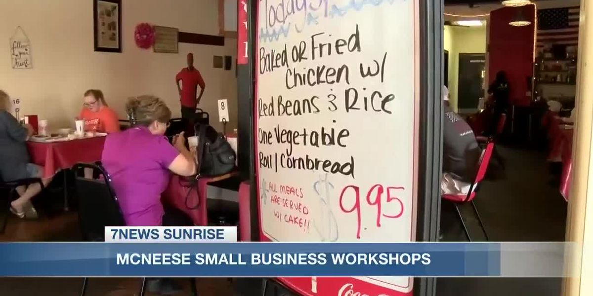 Sunrise Interview: McNeese small business workshops