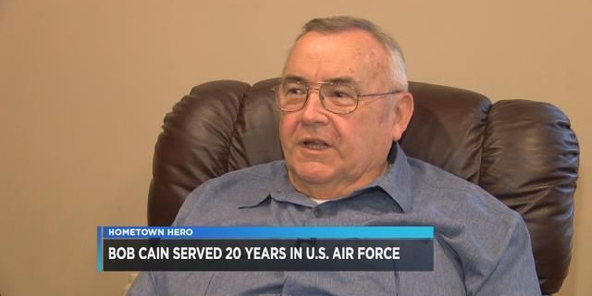 Bob Cain served in Air Force and Westlake Police