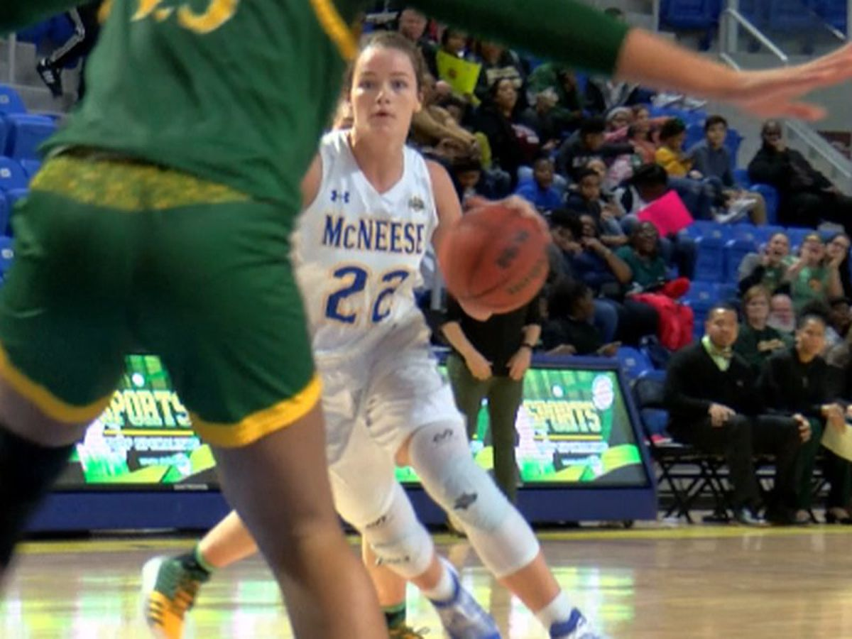 McNeese's Callie Maddox named to All-SLC team