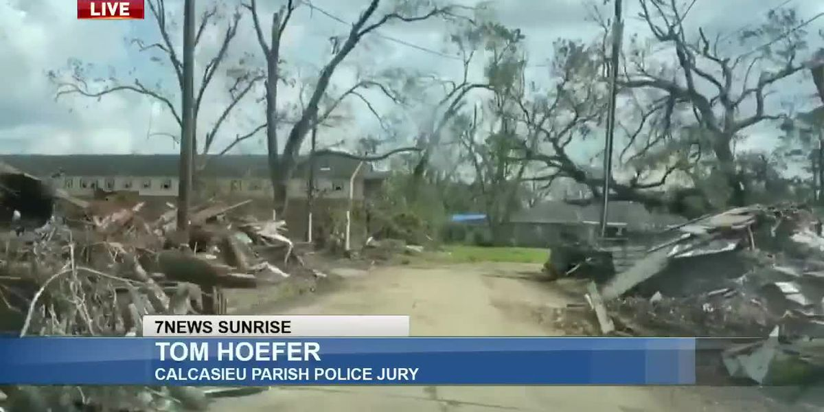 Sunrise Interview: Tom Hoefer with the Calcasieu Parish Police Jury - Sept. 17, 2020