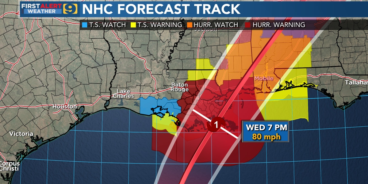 WATCH LIVE: Gov. Edwards discusses preps for Zeta; storm expected to make landfall in southeast La. Wednesday