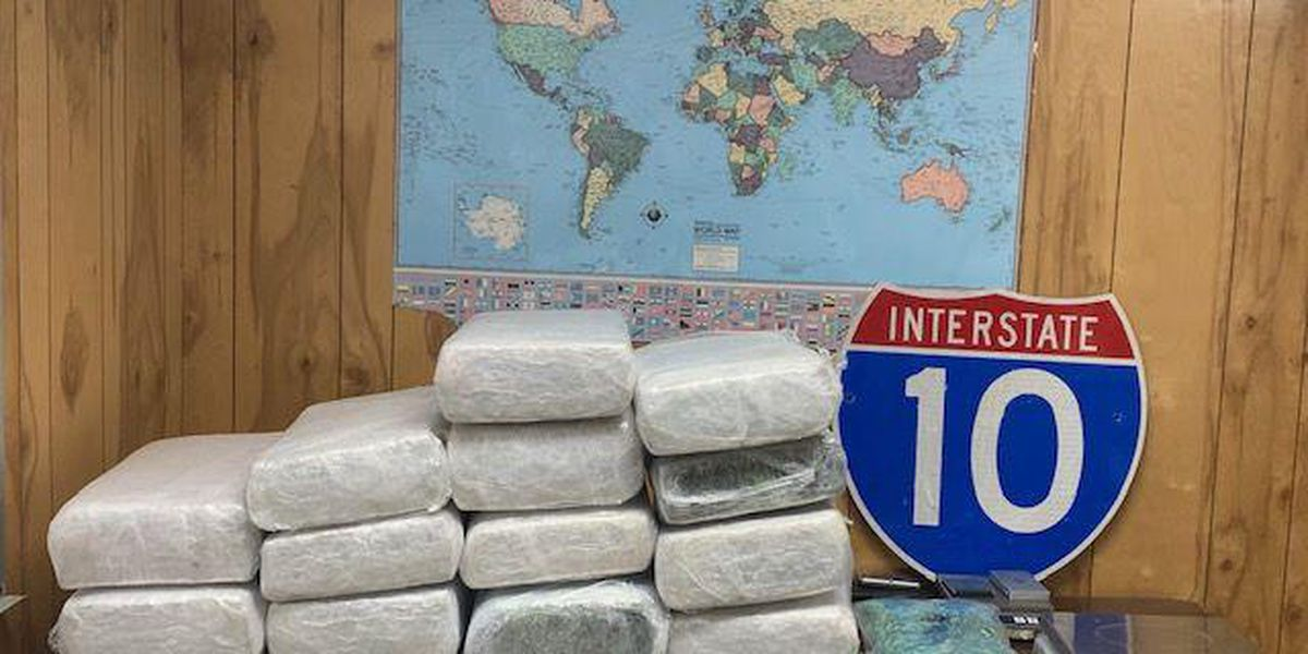 Texas man busted with 163 pounds of marijuana in West Baton Rouge