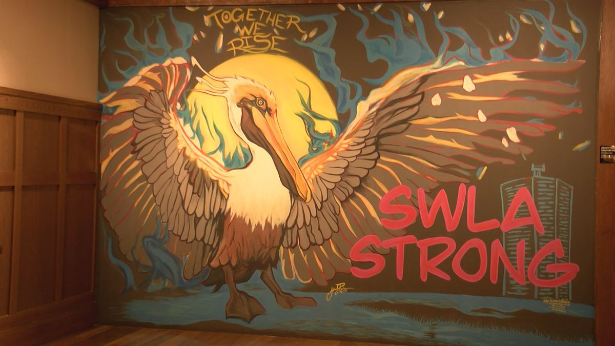 Local artist Jeremy Price and Lauberge team up for 'Together We Rise' mural