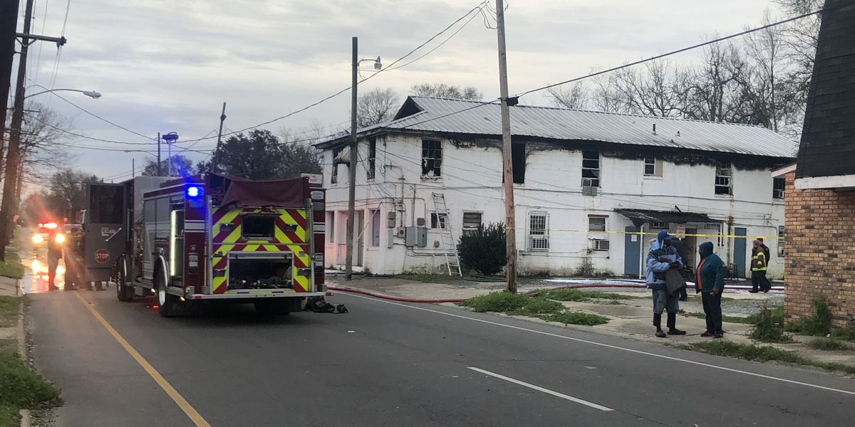 Space heater causes massive damage to N Acadian apartment complex; no injuries