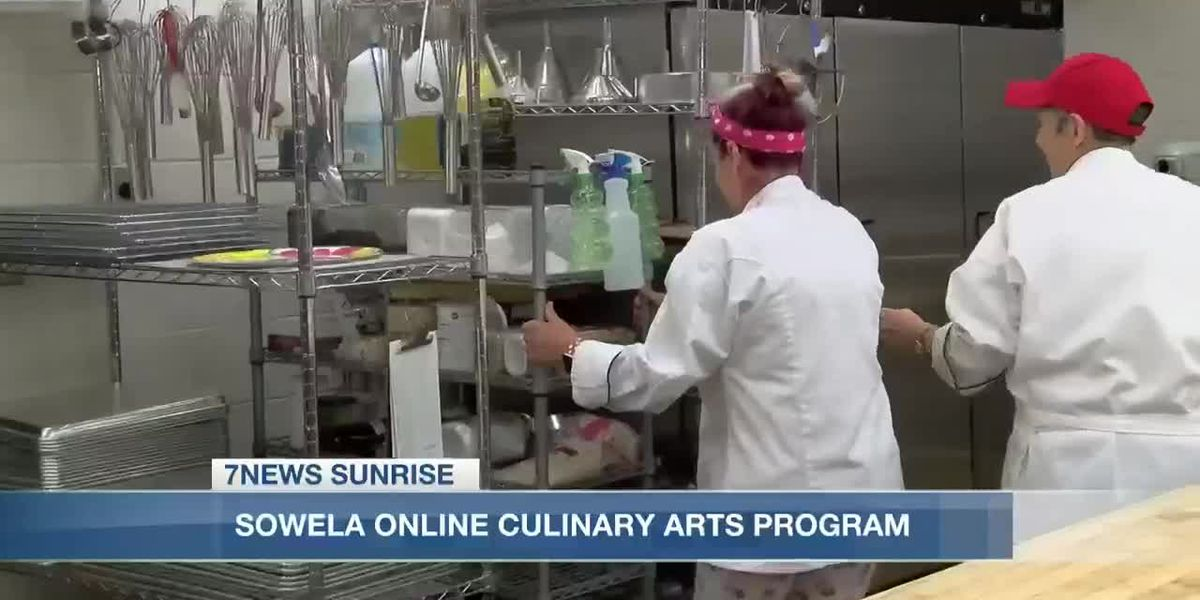 Sunrise Interview: Online culinary program at Sowela