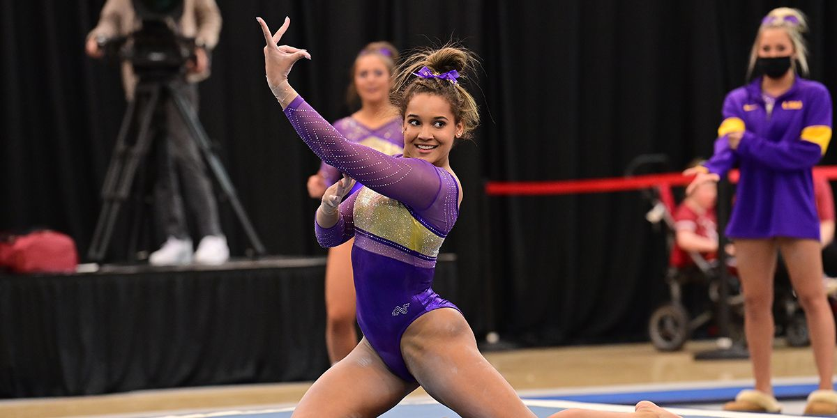 LSU freshman Haleigh Bryant named SEC Gymnast of the Week