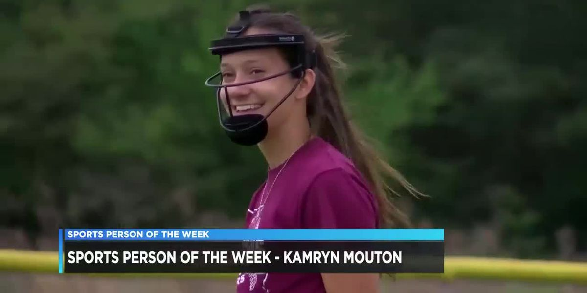 Sports Person of the Week - Kamryn Mouton