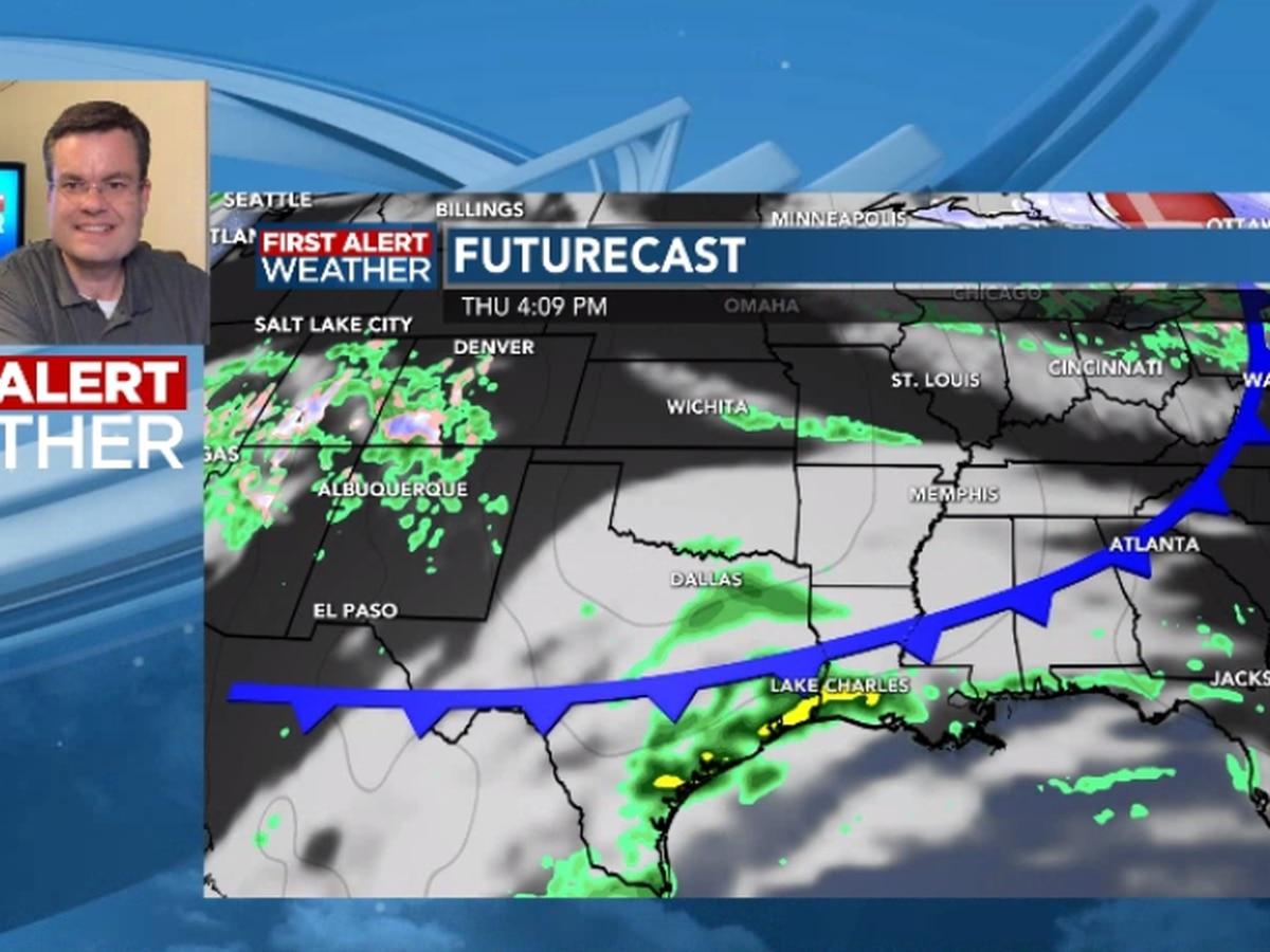 FIRST ALERT FORECAST: Warmer days ahead as rain chances remain low