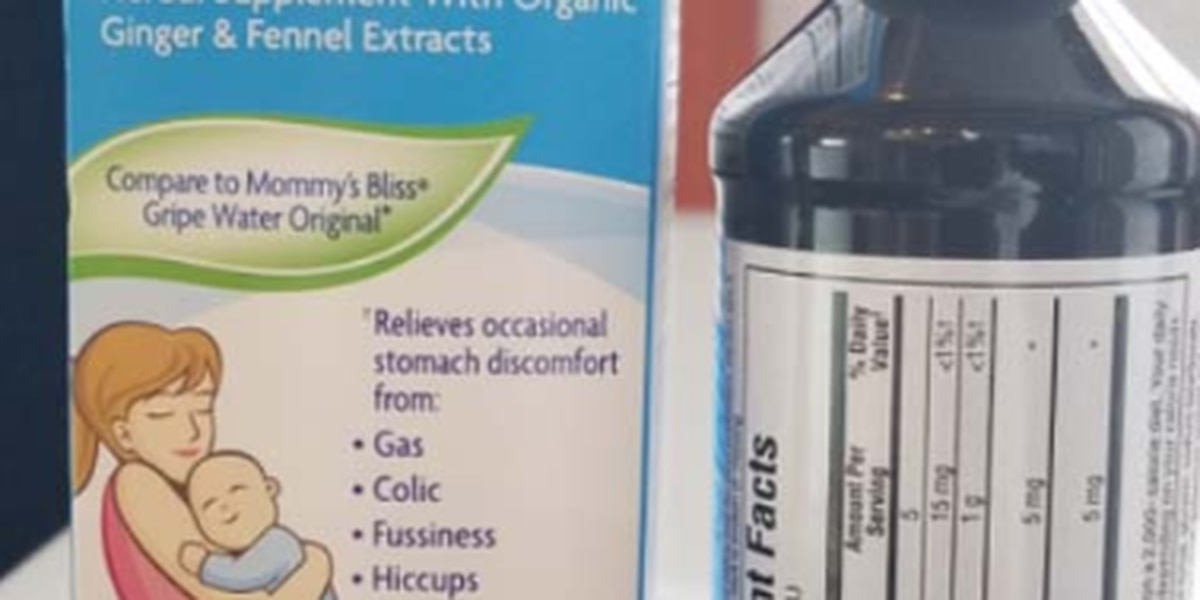 Baby stomach discomfort medicine recalled due to undissolved ingredient