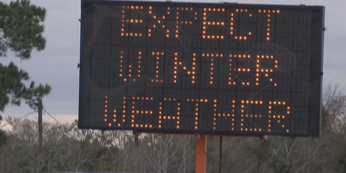 DOTD preparing for possibility of icy roads