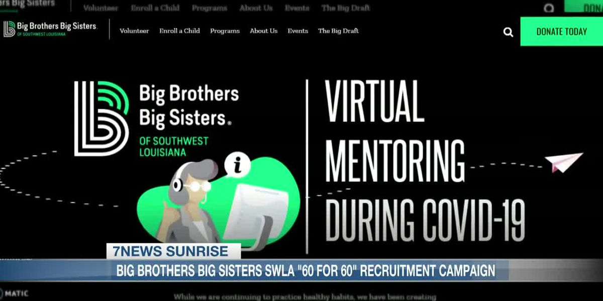 """60 for60″ recruitment drive for Big Brothers Big Sisters"