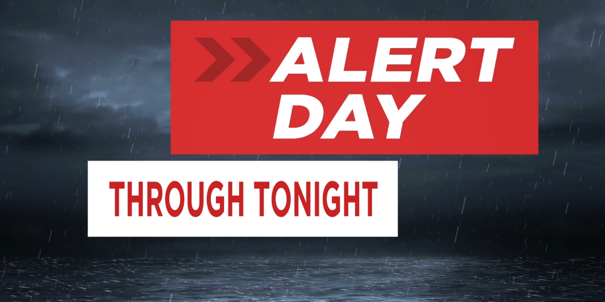 FIRST ALERT WEATHER DAY: Flash flood and severe weather threat continues today