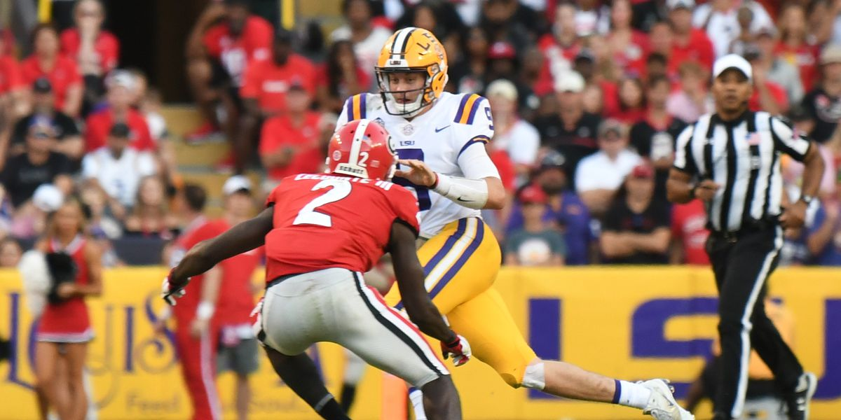 LSU's Burrow named to Davey O'Brien Great Eight List