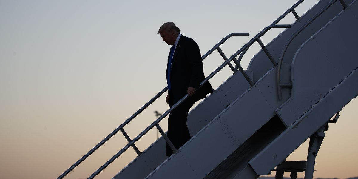 The Latest: Trump says Kavanaugh delay has gone on too long