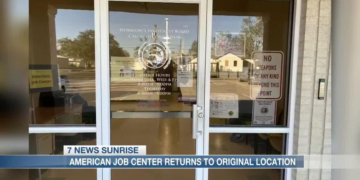 American Job Center returns to original location in Lake Charles