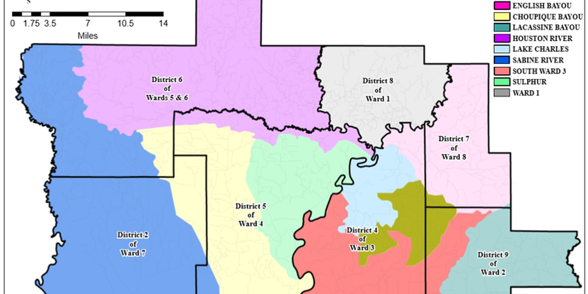 Calcasieu Parish Police Jury proposes consolidation of drainage districts