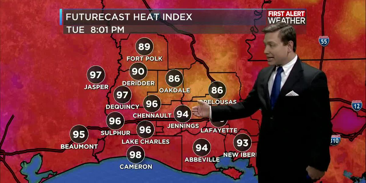 First Alert Forecast: Heat continues with a cold front arriving later this week