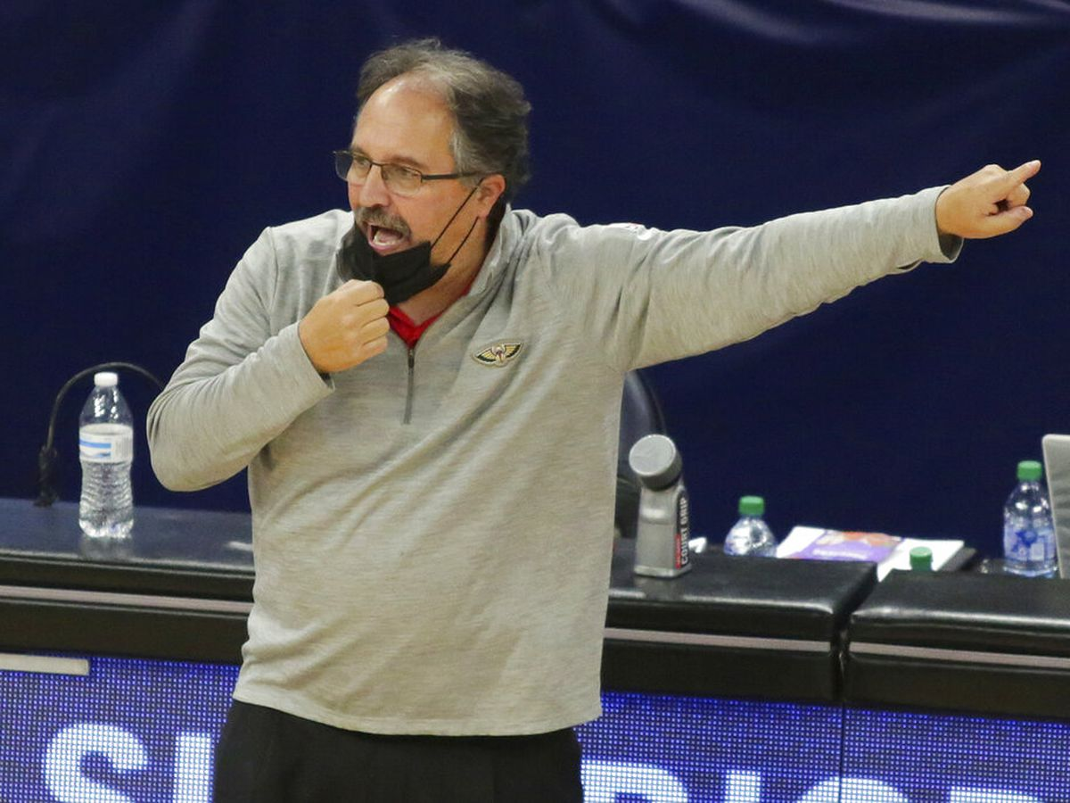 Pelicans head coach questions playing national anthem before games