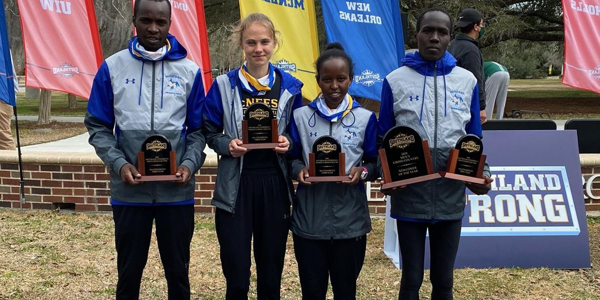 McNeese's Cheplak earns First-Team All-SLC, Newcomer of the Year at SLC cross country meet