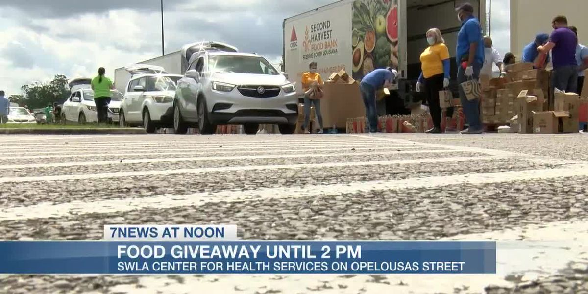 Second Harvest Food Bank joins SWLA Center for Health Services to give back to the community