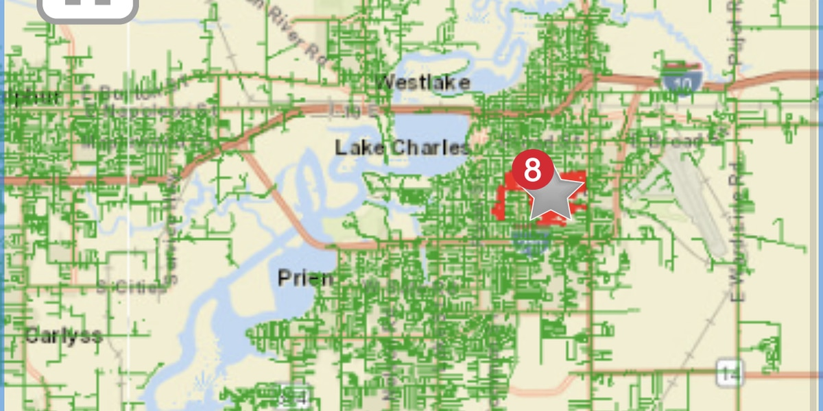 Power outages in Oak Park area