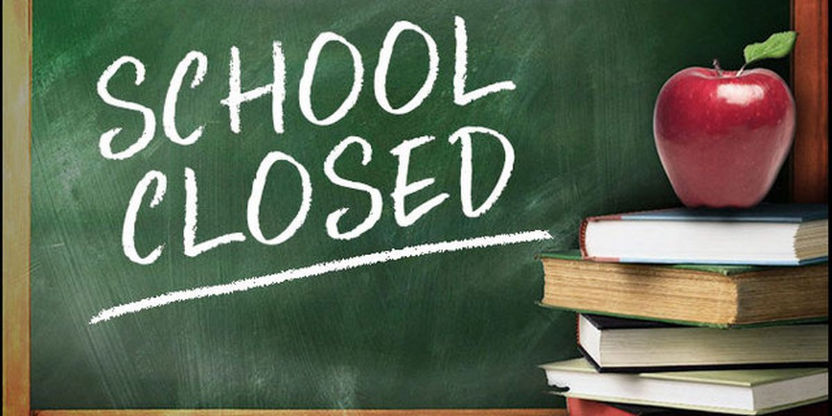 School closures for Monday, Jan. 11