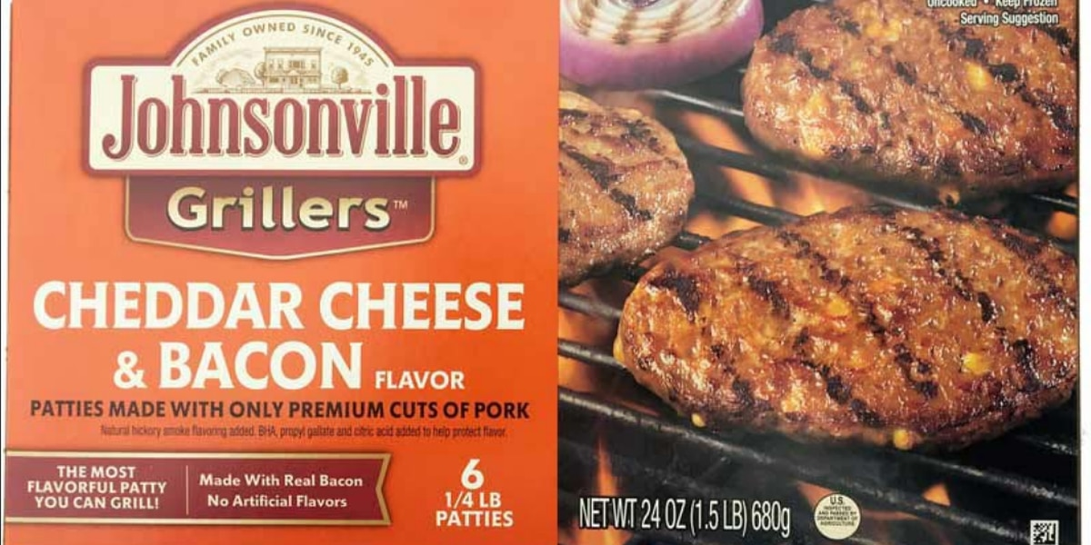 Over 48,000 pounds of pork patty products recalled, possible black rubber contamination