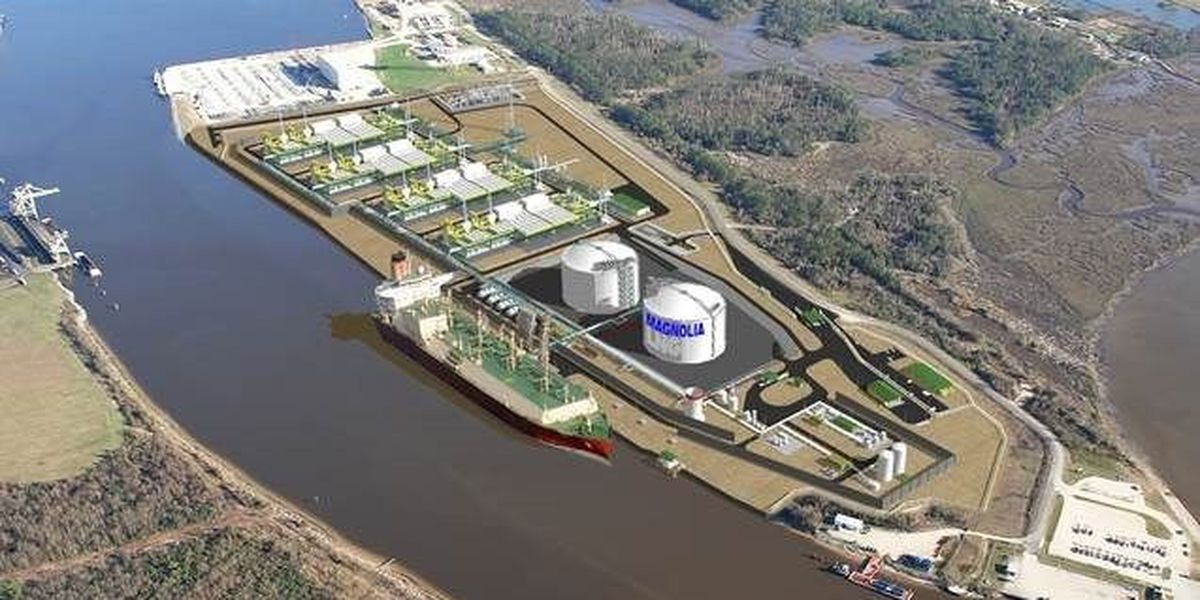 Magnolia LNG receives ITEP tax incentive