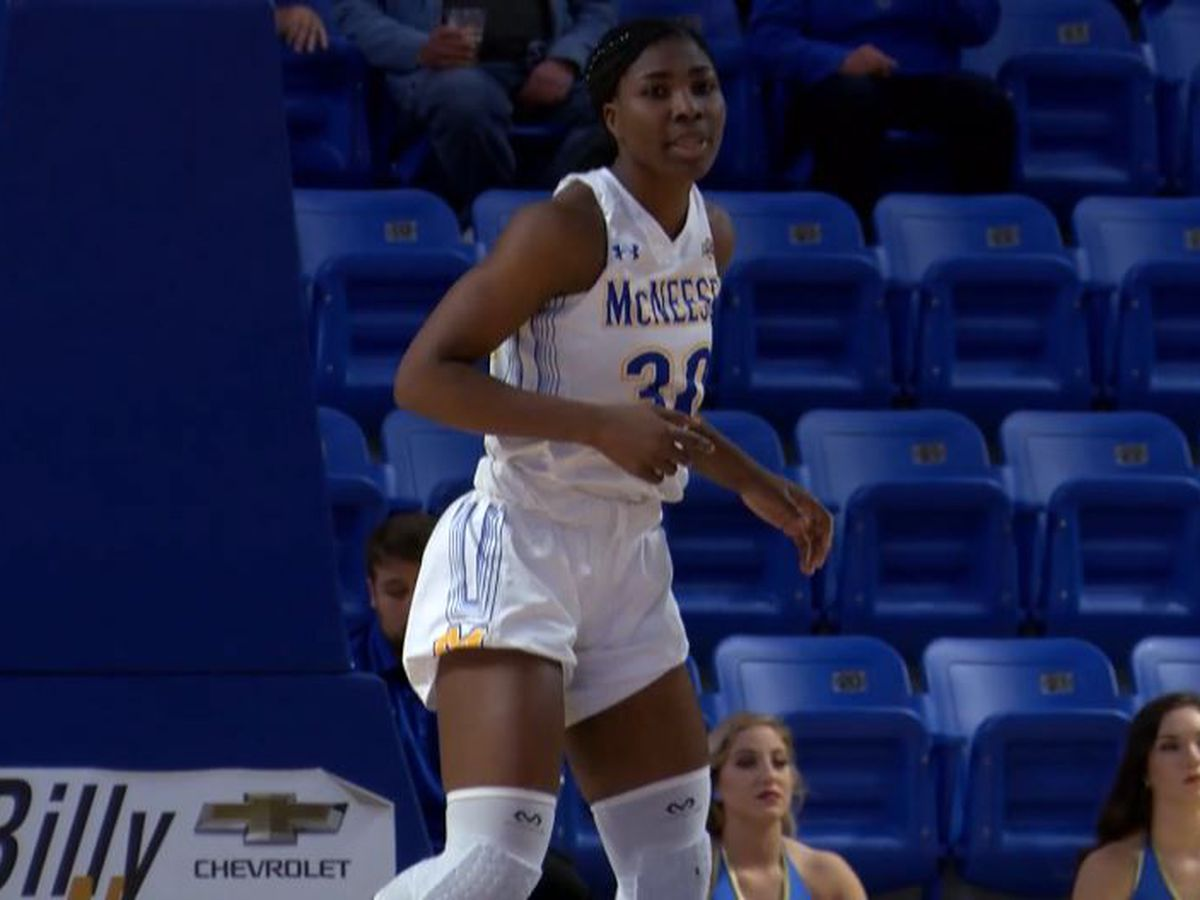McNeese's Damilola Balogun named to SLC All-Academic First Team