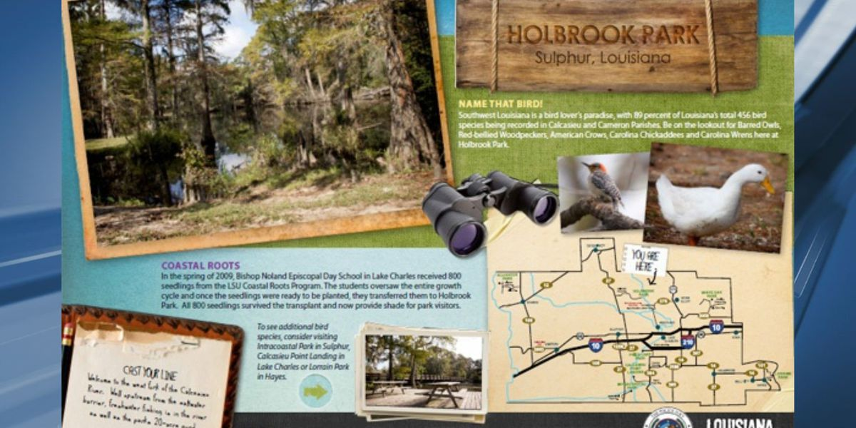 Holbrook Park reopens today