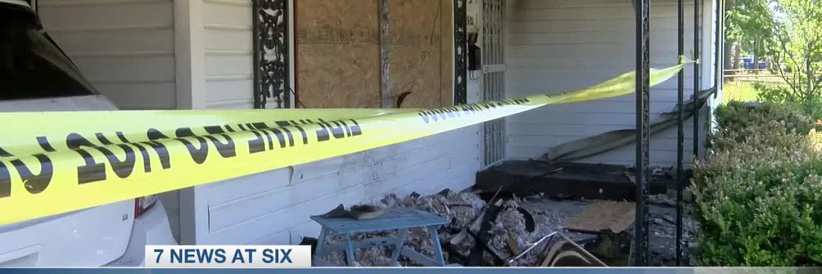 Lake Charles woman's home caught fire, robbed