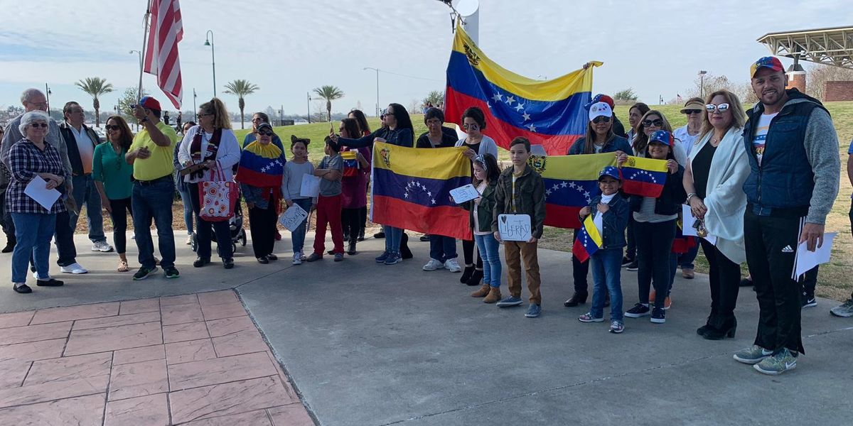 Controversy in Venezuela hits the streets of Lake Charles