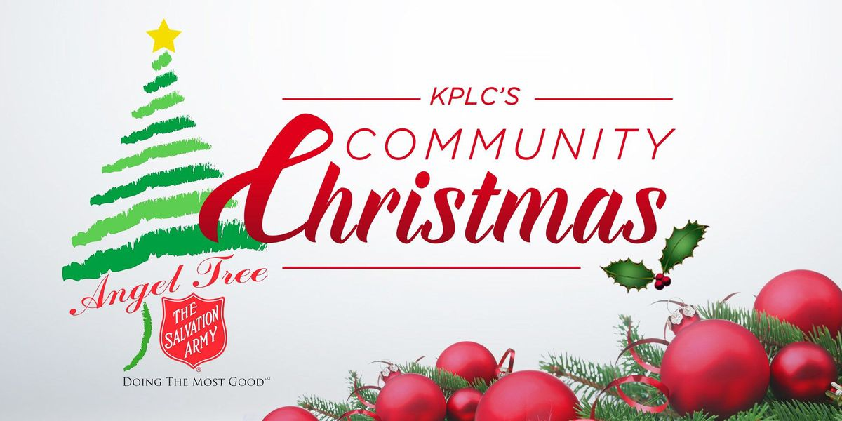 KPLC's Community Christmas & Salvation Army Angel Tree