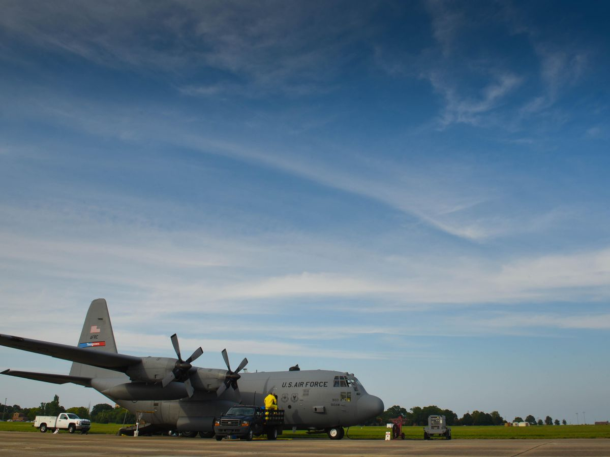 Air Force C-130 aircraft to help spray mosquitoes in aftermath of Delta
