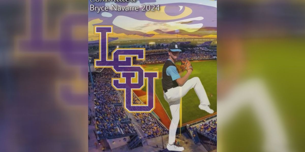Barbe freshman Bryce Navarre commits to LSU