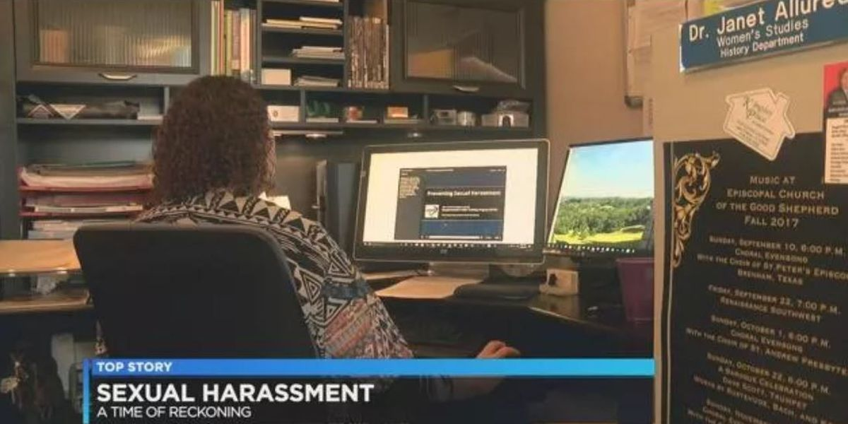 Feminist historian hopes victims of sexual harassment are empowered
