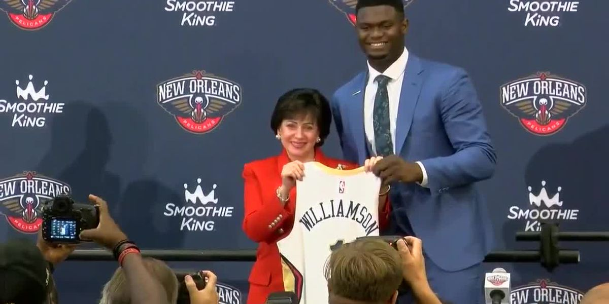 Zion Williamson tells magazine he intends to stay with Pelicans for 'whole career'