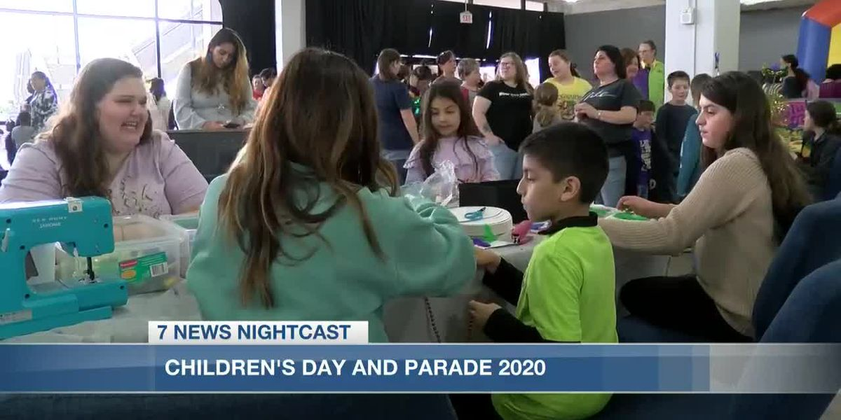 Mardi Gras festivities continue with Sunday's Children's Day and Parade