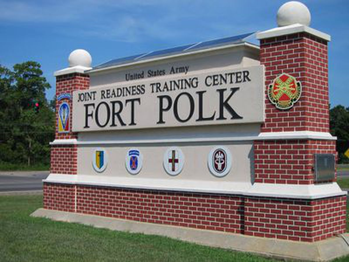 Military convoys traveling between Port Arthur, Fort Polk for training exercises