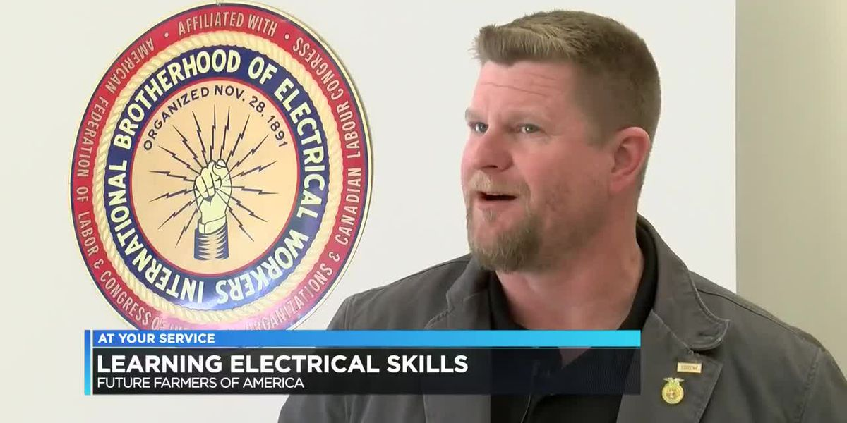 Electrical workers & Future Farmers of America offer teens career development