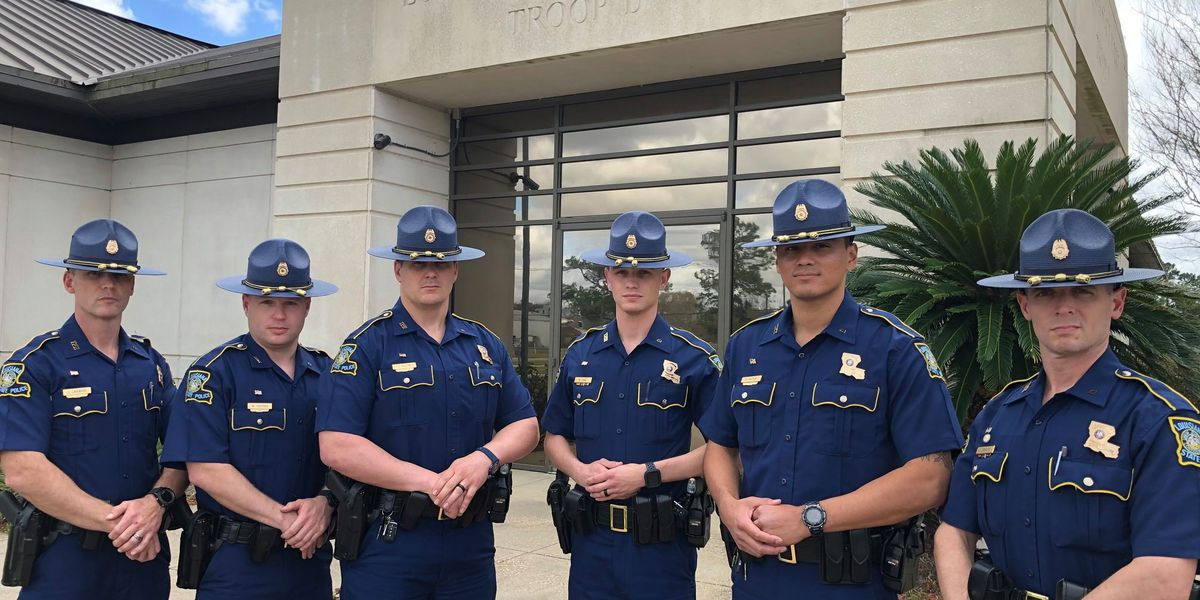 6 Cadets join Louisiana State Police Troop D