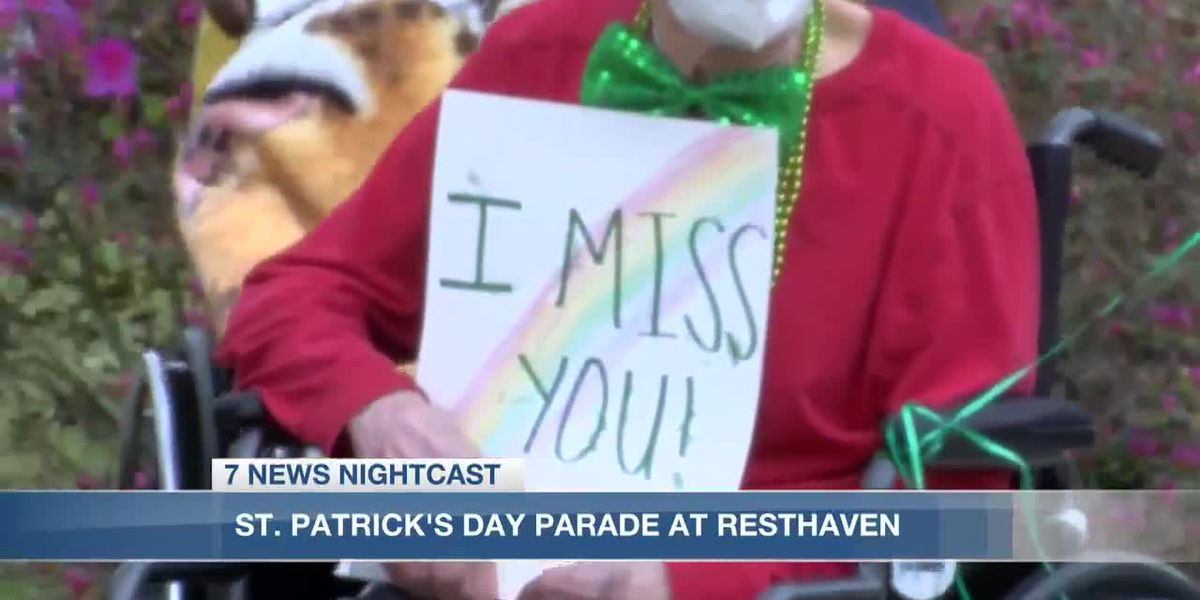 Resthaven holds parade for residents to see families