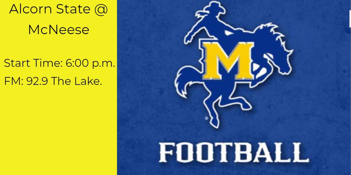 McNeese takes on Alcorn State tonight